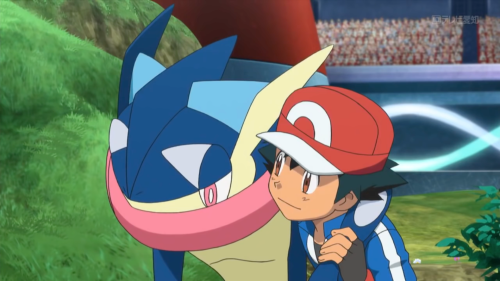 He was there. Ash is a loser!