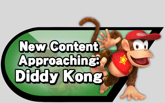 New Content Approaching: Diddy Kong