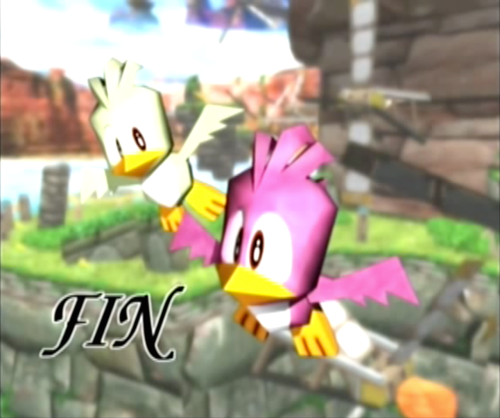 Flickies in Sonic Adventure