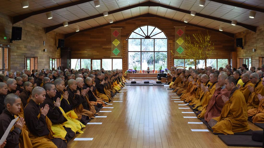 retraite hiver - centre meditation pleine conscience - paris - village des pruniers