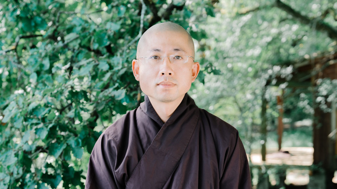 Brother Gio Dat - Healing Spring Monastery - Plum village