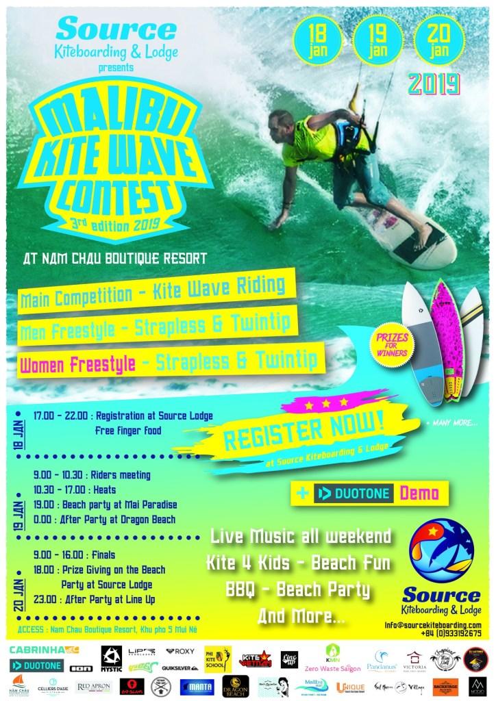 kitesurf competition poster