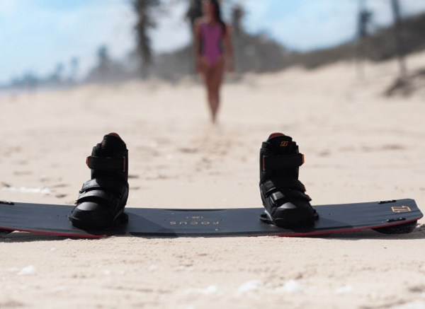 north focus board with fix boot bindings