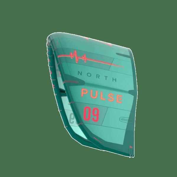 north pulse kite in green