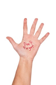 Don't Forget Hand