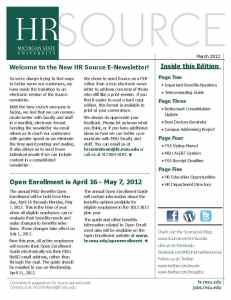 Source March Newsletter Cover