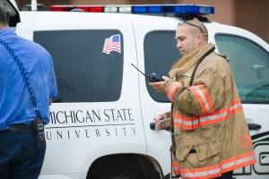 MSU police emergency training exercise