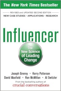 """Influencer"" book cover"