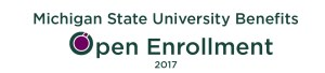 MSU Benefits Open Enrollment Masthead