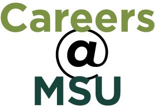 Careers @ MSU Graphic