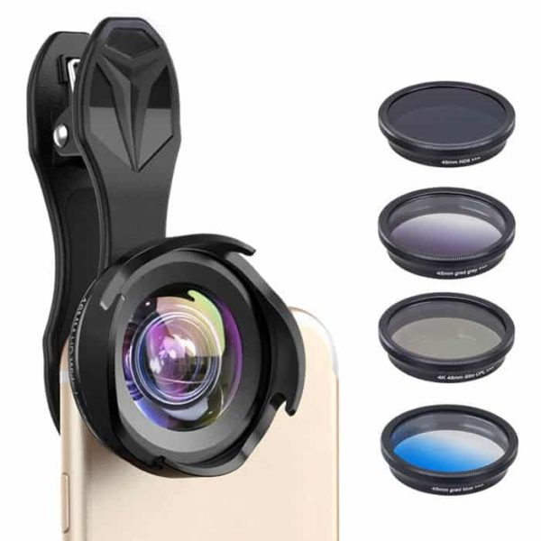 APEXEL 16MMS Professional HD 6 in 1 Lens SLR Kit for SmartPhone SOP