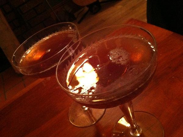 Cocktail Recipe: Rye Manhattans