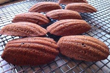 Baking with Samantha: Chocolate Madeleines