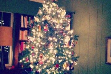 Tabletop Christmas Tree #instagram