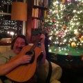 Greg singing carols