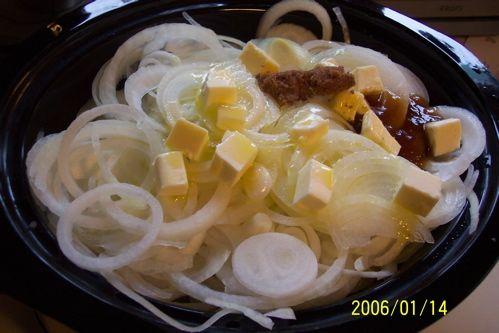 Crock Pot Caramelized Onions