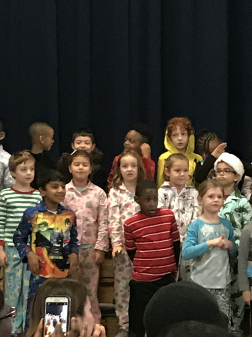 Pajama Day + Winter Concert at UNES