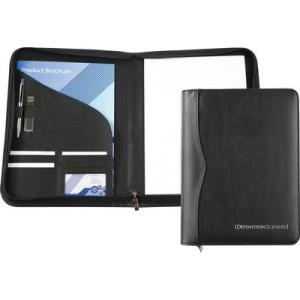 Houghton A4 Zipped Folder