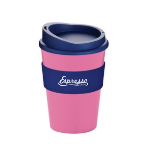 plastic coffee mugs with logo