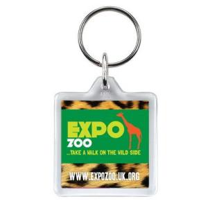 Promotional Products - Square Keyring
