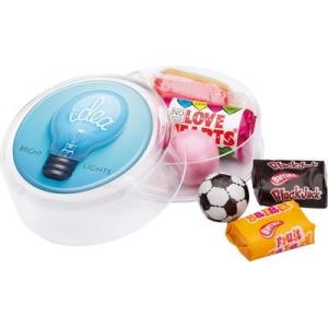 Promotional Sweets - Maxi Round Retro Sweets Pot