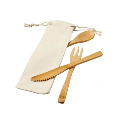 Promotional Bamboo Cutlery Set