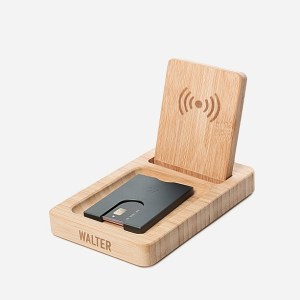 Walter Wireless Charger Branded with Logo