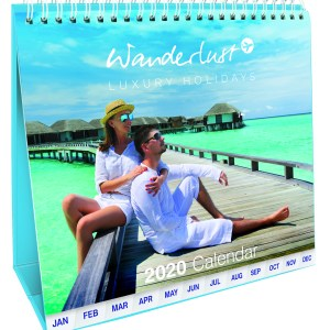 Promotional Calendars with Tabbed Calendar Months