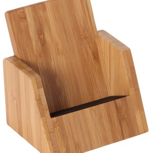 Promotional Bamboo Desktop Mobile Phone Stand Holder