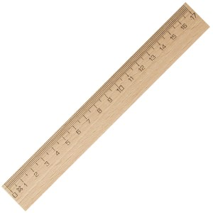 Promotional Sustainable Items - Wooden Rulers