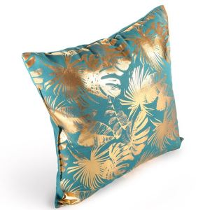Branded Glitter Printed Cotton Pillow with Logo
