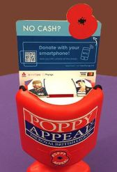 Cashless Donations using NFC enabled merchandise