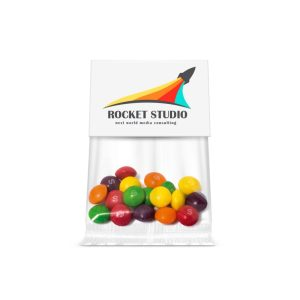 Promotional Sweets with Info Card - Skittles