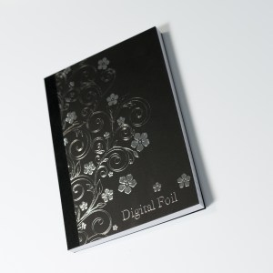 Notebook with Digital Foil Print