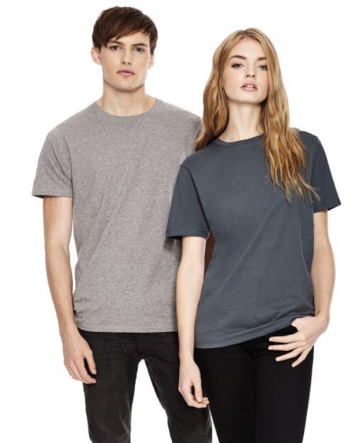 Unisex T-shirt from Fair Trade Certified Cotton