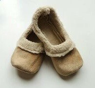 Tan Sherpa Loafers