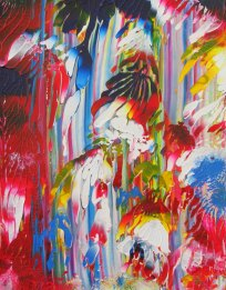 """""""Candy"""" Abstract Painting"""