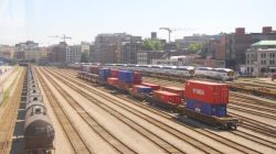 China Launches Freight Train London