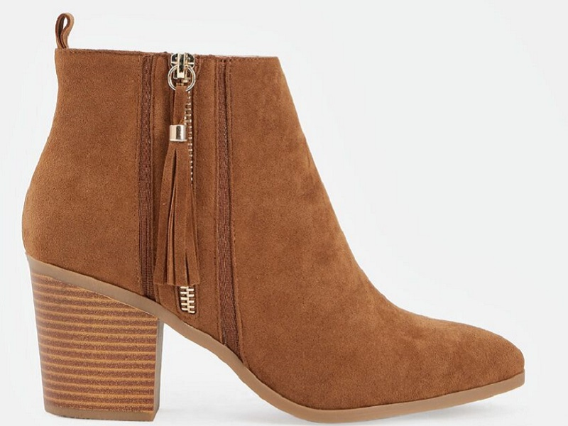 justfab-x-betches-brown-suede-bootie