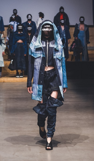 Denim look by Sara Armellin