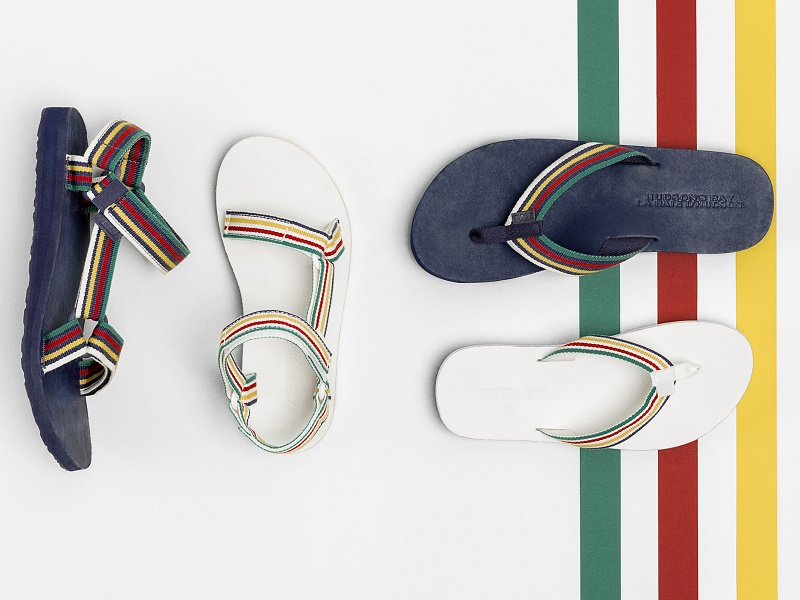 58588c48f1cc Teva Teams Up With Hudson s Bay for Limited-Edition Sandals – Sourcing  Journal