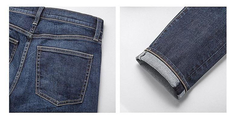 Women's cigarette jeans