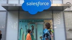 Salesforce Working Launch Blockchain Product September