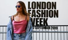Nostalgic Denim and Colors Mix at London Fashion Week