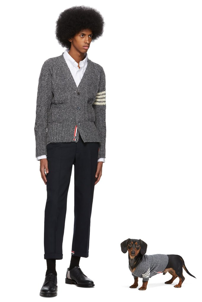 Pet fashion is all the range, Pinterest said, and global fashion platform Ssense just released a collection of luxury dogwear priced as high as $1,395.