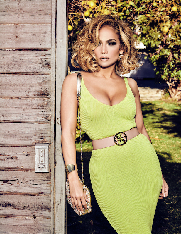 Jennifer Lopez stars in Guess' Spring '20 campaign.