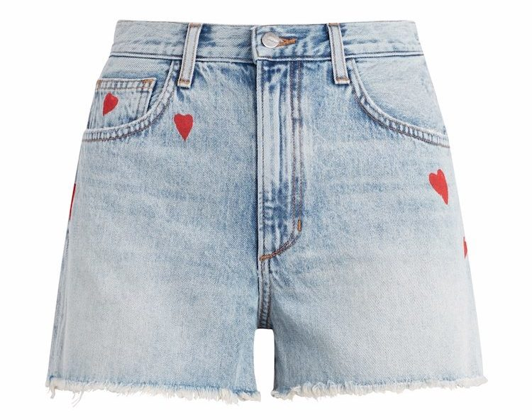 Joe's Jeans and Stephanie Gottlieb launch Denim & Diamonds collection featuring four styles of embellished jeans and denim shorts.