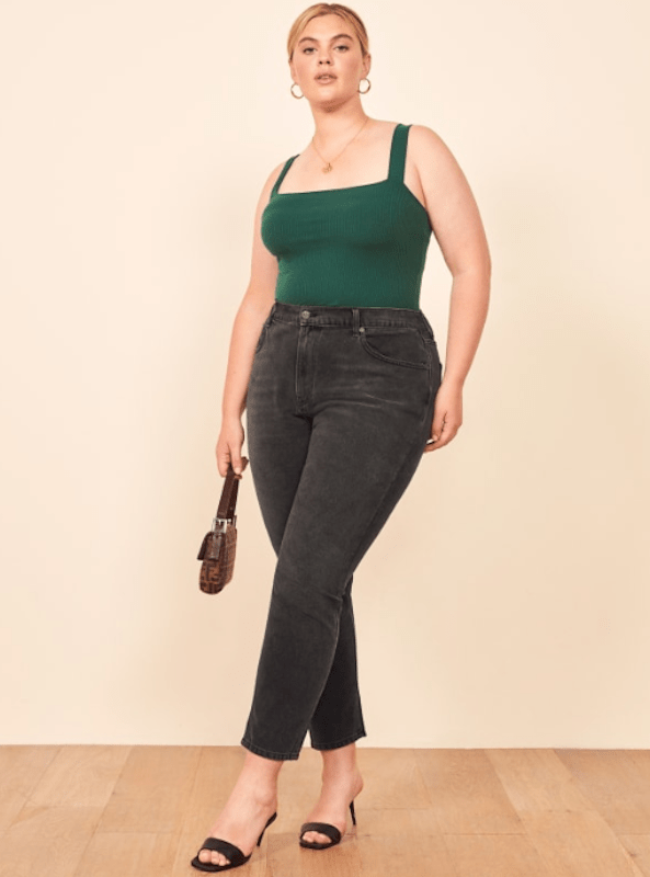 These 10 inclusive denim brands offer extended sizing and figure-flattering silhouettes to accommodate diverse body types.
