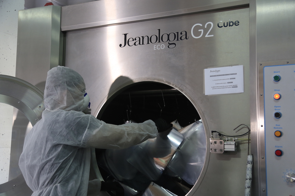 Jeanologia plans to take sanitization global.