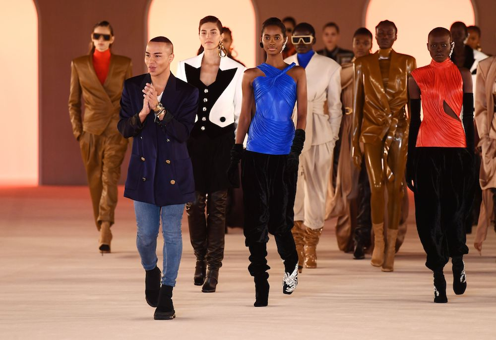 Chloe's Natacha Ramsay-Levi, Balmain's Olivier Roustieng and Balenciaga's Cedric Charbit discussed the future of the runway with Vogue.